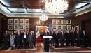 Con motivo de su IV Informe de Gobierno, Rubén Moreira, acompañado de integrantes de su Gabinete, dirigió un mensaje los coahuilenses en red estatal.