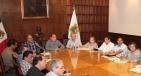 Se reúne Gobernador Rubén Moreira con trabajadores de la educación