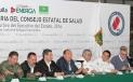 El Gobernador Rubén Moreira Valdez encabezó la Primera Sesión Ordinaria del Consejo Estatal de Salud