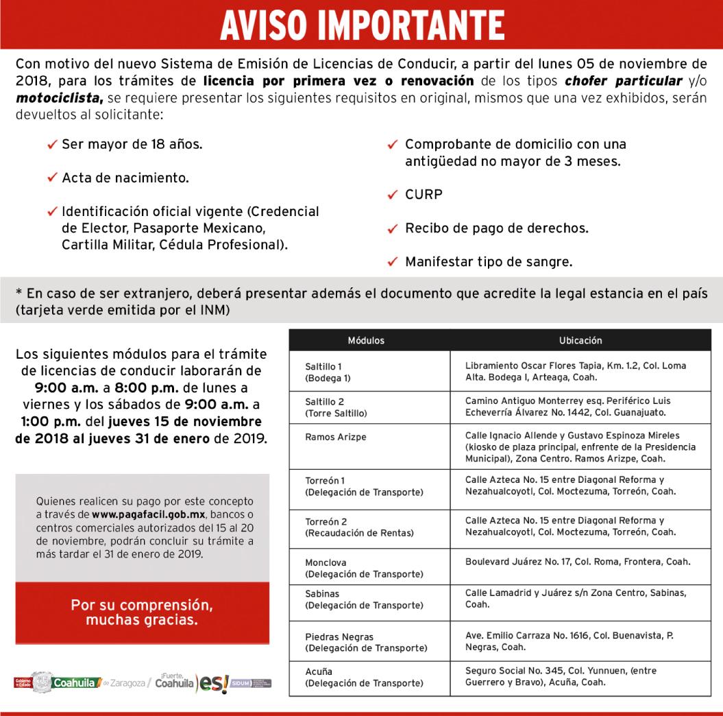Gobierno De Coahuila