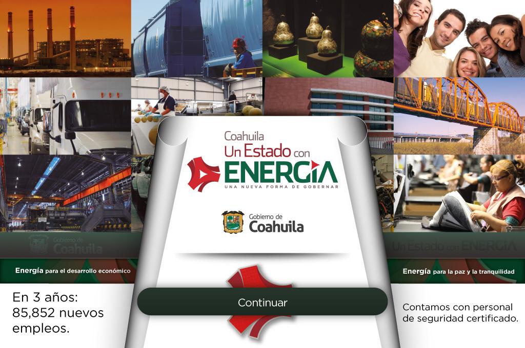 Gobierno del Estado de Coahuila - 3er. Informe de Gobierno